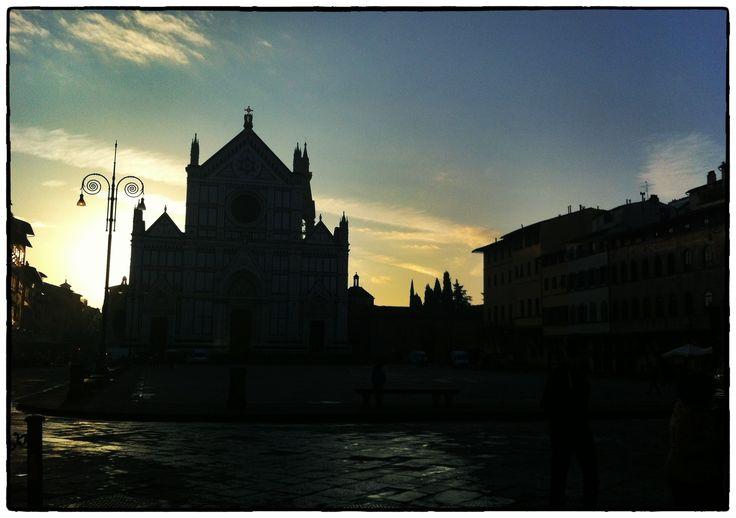 La basilica all'alba ||||| Sunrise at Santa Croce