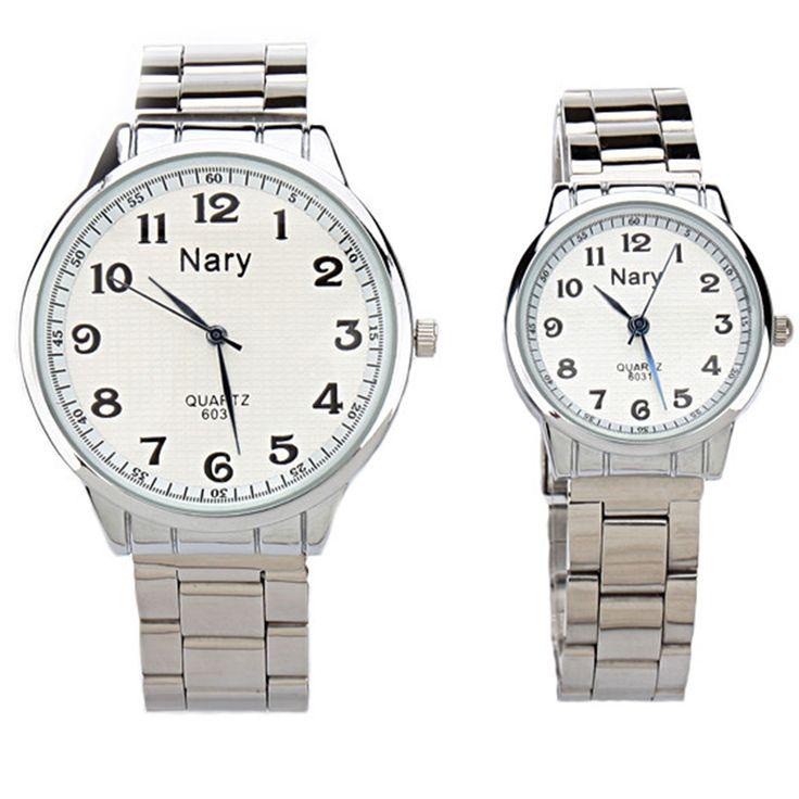 $4.89 (Buy here: https://alitems.com/g/1e8d114494ebda23ff8b16525dc3e8/?i=5&ulp=https%3A%2F%2Fwww.aliexpress.com%2Fitem%2FNARY-2016-New-brand-metal-watch-men-and-women-clock-erkek-kol-saatleri-Simple-style-horloge%2F32765583004.html ) NARY 2017 New brand metal watch men and women clock erkek kol saatleri Simple style horloge dames montre femme marque de luxe for just $4.89