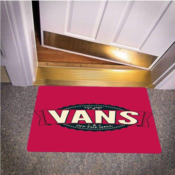 VANS OF THE WALL MAGENTA BEDROOM CARPET BATH OR DOORMATS