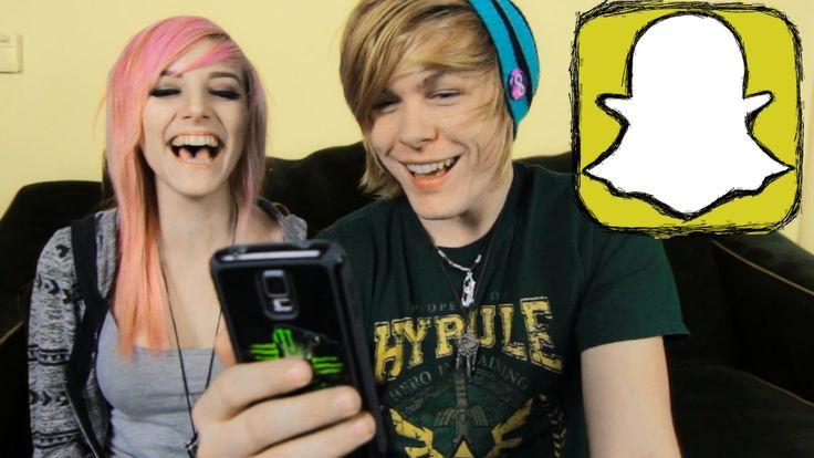Opening Crazy Snapchats W/ AlexDorame