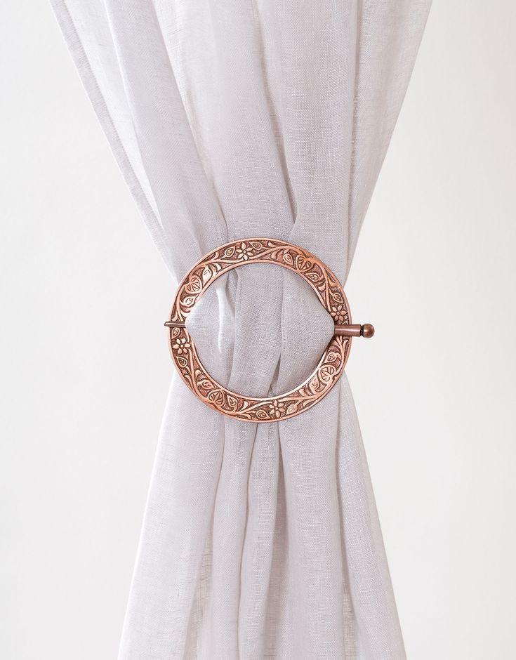 BUCKLE COPPER 171 gardin accessoar | Curtain accessories | CurtainAccessories | Gardiner | Inredning | Indiska.com