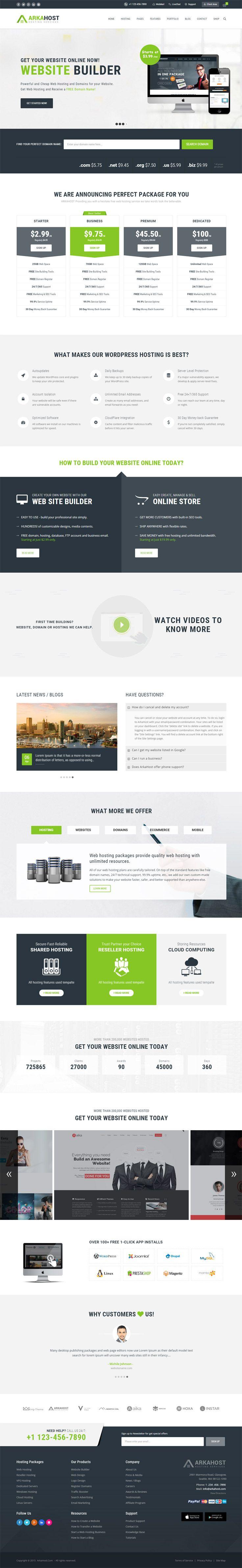 10 + Superb Premium WordPress Technology Themes