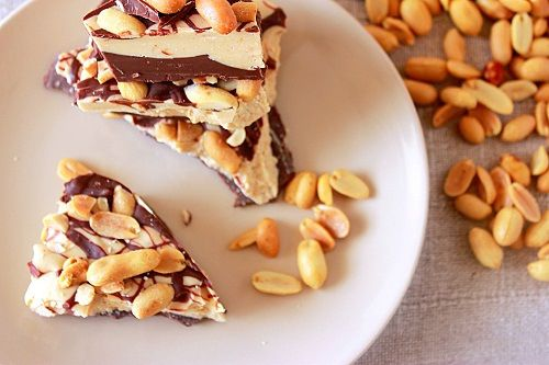 Peanut Butter  and Chocolate Bark ~  Syrup and Biscuits