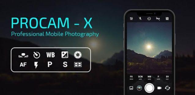 تحميل برنامج Procam X مجانا للاندرويد آخر اصدار Mobile Photography Hd Camera Electronic Products