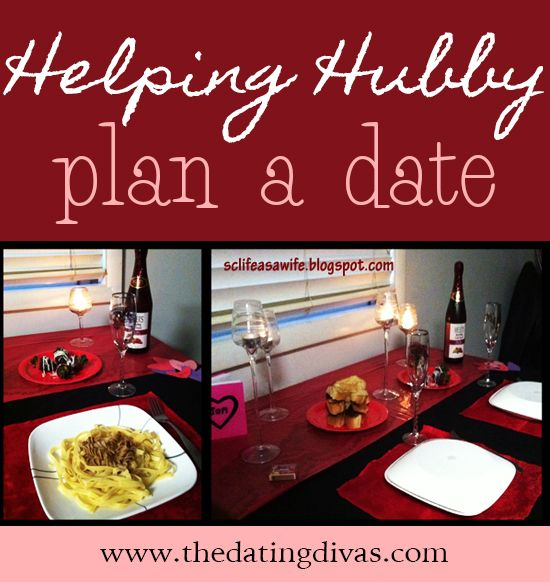 How to involve your hubby in the planning of date night!  Fun idea!!