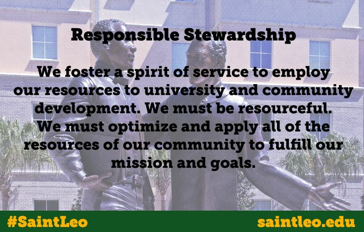 Saint leo core values