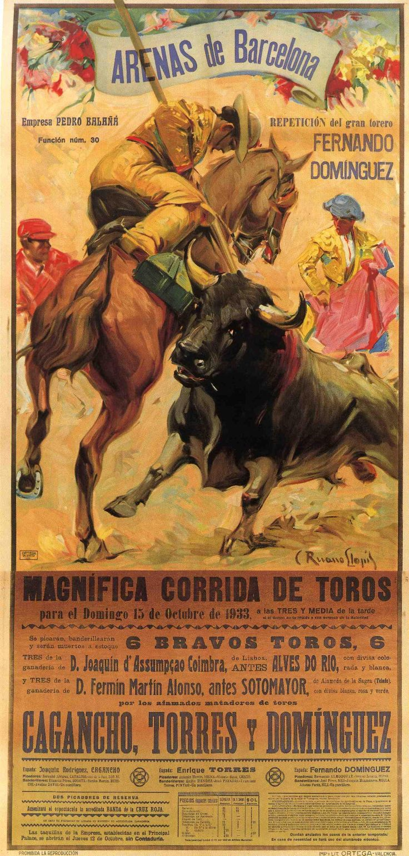 Carteles antiguos de toros