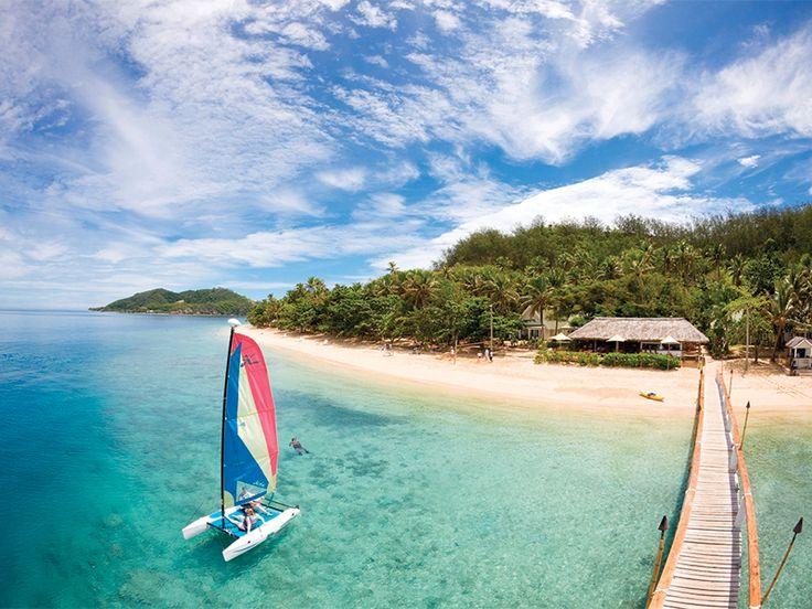A little piece of paradise - Malolo Island Resort, Fiji  www.islandescapes.com.au