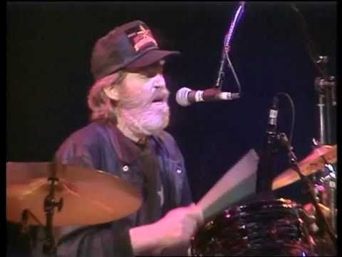 """Levon Helm, Ringo Starr and the 1989 All Starr Band """"Up On Cripple Creek"""" - YouTube"""
