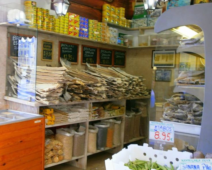 fishmonger in Lisbon