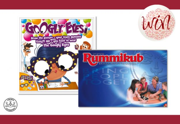 WIN 1 of 15 family game packs from Crown