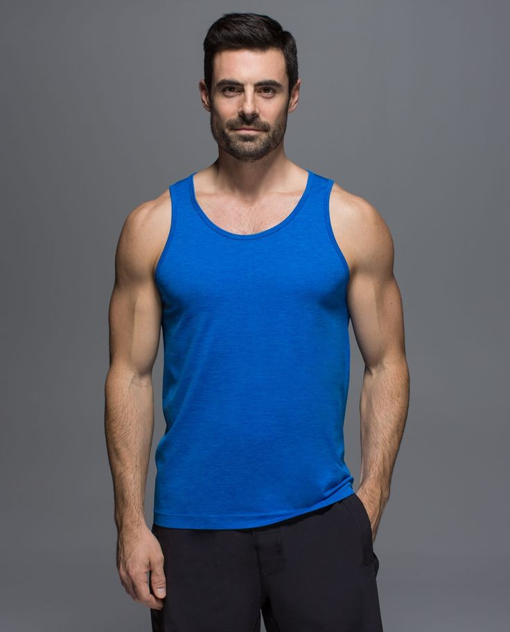 This sweat-wicking, anti-stink tank was designed to keep you cool and comfortable before, during and after your sweatiest workout. We can't guarantee that you won't stink but what we can do is make sure your shirt stays fresh for the long haul.
