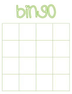 Bingo | Zelf maken