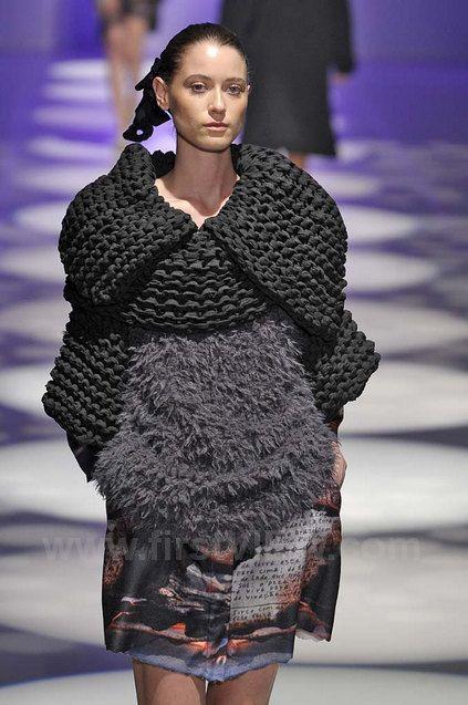 from Ronaldo Fraga ready to wear runway collection fall/winter 2013