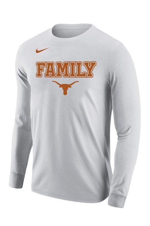 31f63056 Nike Texas Longhorns Family Legend Long Sleeve T-Shirt | Texas Tees ...