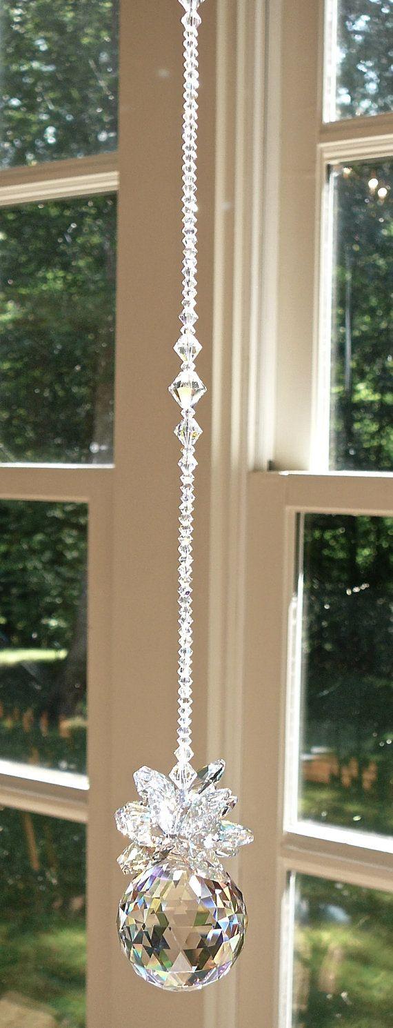Isabella Swarovski Crystal Suncatcher by HeartstringsByMorgan