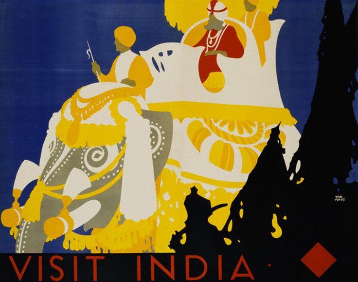 Visit India - Tom Purvis