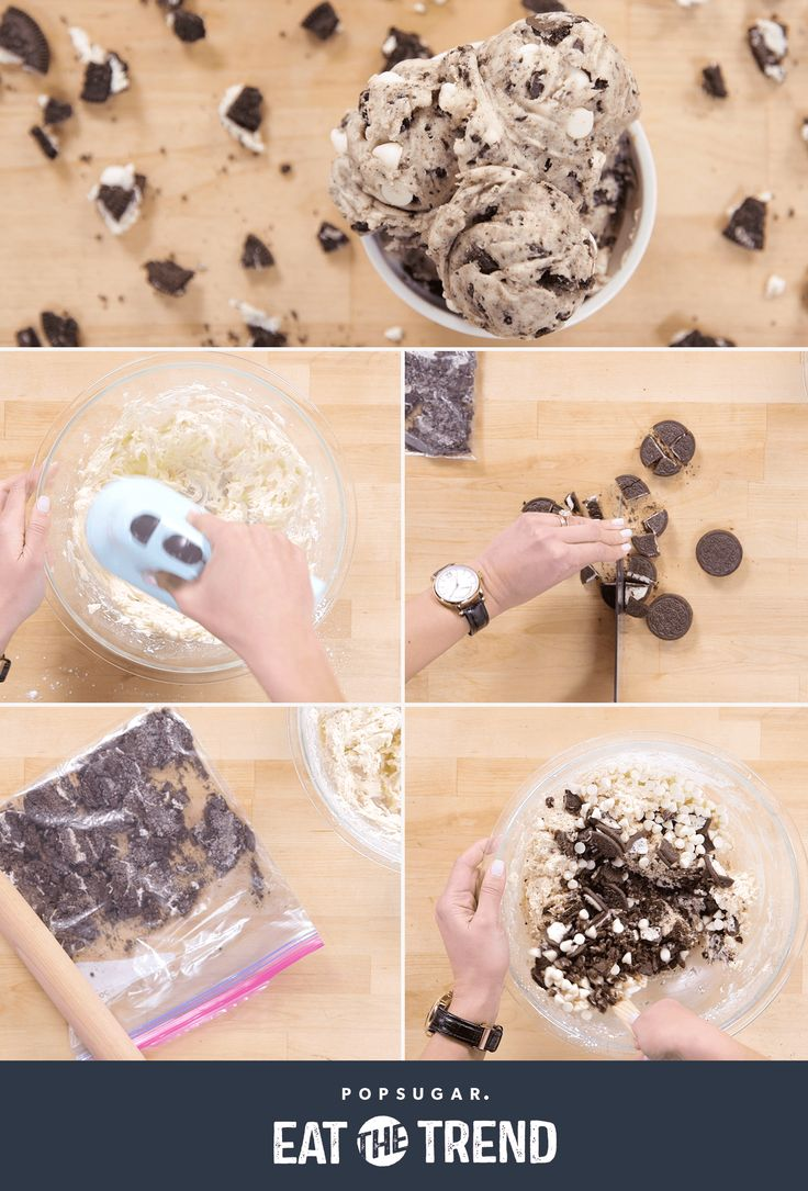 EDIBLE OREO COOKIE DOUGH Cookie dough and Oreos are the best combination ever!