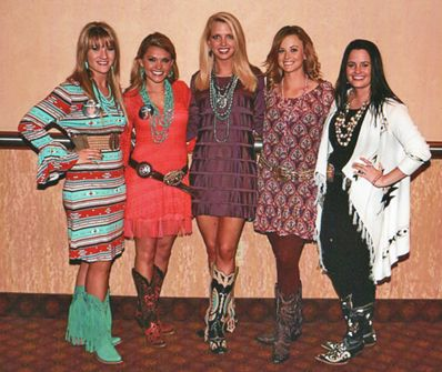 ... GALA HELD TO HONOR INDUCTEES INTO THE MISS RODEO AMERICA HALL OF FAME