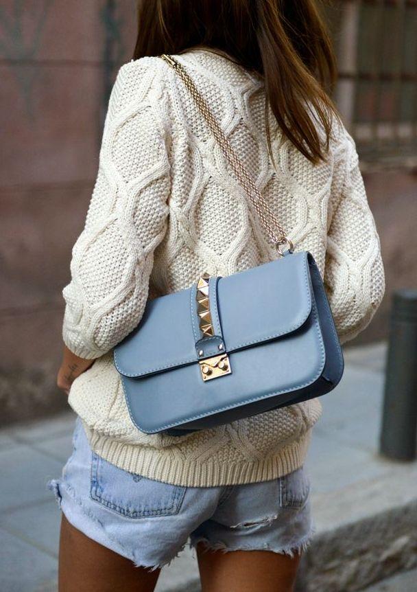 Valentino Glam Lock Handbag | Studded perfection.