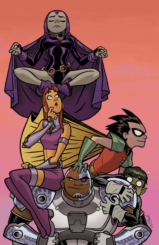 Ultimate teen titans