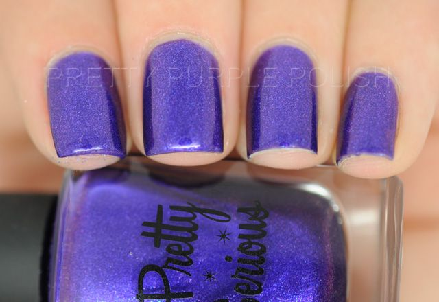 Pretty Serious - Poltergeist Puddle ~ Pretty Purple Polish