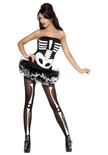 Best Skelequin Womens Costumes for Halloween. >> Give Dem Bones a remix with this Sexy Skeleton Costume!