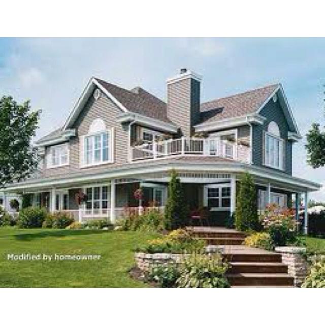 Wrap around porch dream home pinterest Wrap around porch house
