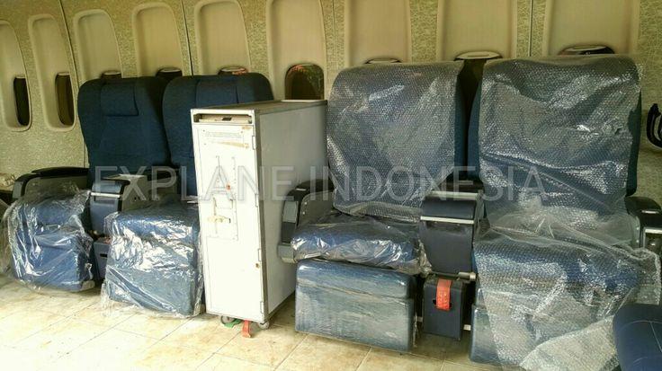 Business Class ex Garuda Indonesia
