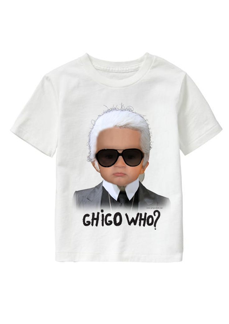 WHO? personalized T-shirt www.ghigostyle.com