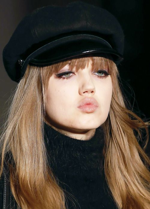 Lindsey Wixson at Emilio Pucci FW 2013