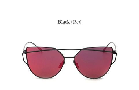 Mirrored Cat Eye Women's Fashion Sunglasses 2017 trend eyewear glasses fashion styles style cute cheap summer 2017 outfit cool trendy products shops websites buy online eyecat girl store shop for sale black red