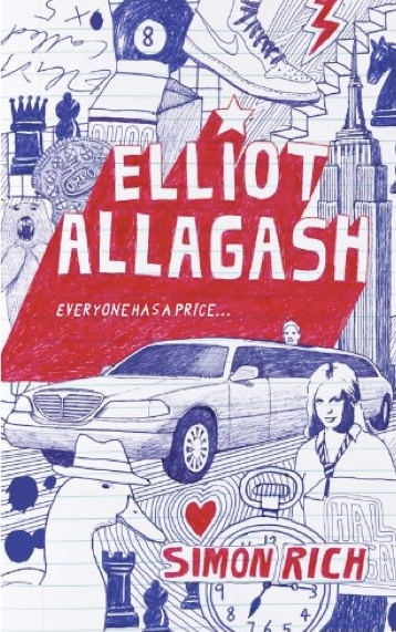 Elliot Allagash, by Simon Rich. This book is so clever and fun, I read it straight through from cover to cover in one night, and then started reading it again the next morning.
