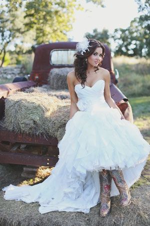 songstress Shae Fisher - in a Maggie Sottero dress. Texas Hill Country wedding