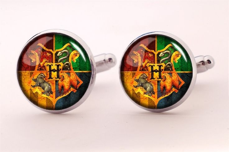 Harry Potter HOGWART Cuff links, 0366CS from EgginEgg by DaWanda.com