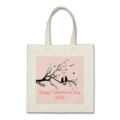 8aadbc87cf454d3a94934135b8a691b4 - Happy Valentines Day 2018 Cats In Love Tote Bag - valentines day gifts gift idea...