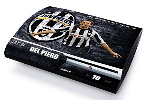JUVENTUS DEL PIERO ULTRAS JUVE Skin Cover PS3 FAT HD limited edition DECAL COVER ADESIVA STICKER Playstation 3