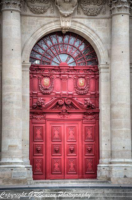 The Red Door - Paris, France