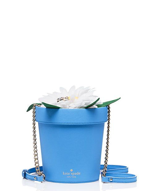 down the rabbit hole daisy flowerpot - Kate Spade New York