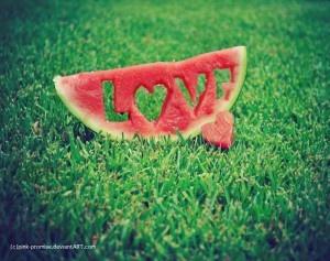 cute cutout for watermelon!