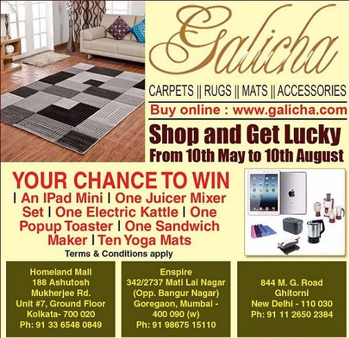 Buy our any Design / Product and you will have a chance to win existing gifts from the #LuckyDraw.