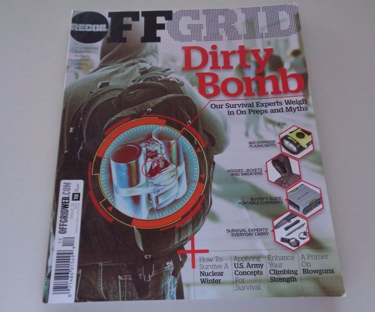 Recoil Off Grid Dirty Bomb Issue 16 12/02/2016