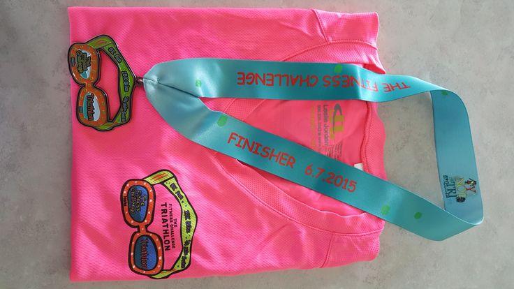 The Fitness Challenge - Reverse Sprint Triathlon in Naples, FL http://www.thesunshinerunner.com/?p=219