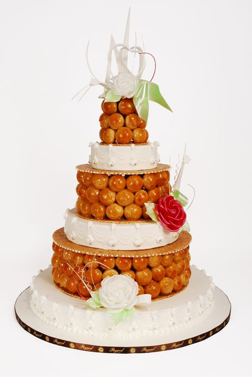 A new take on the croquembouche by Francois Payard | LOVELY PIECE MONTE DE CHOUX CREME UMMMH **+
