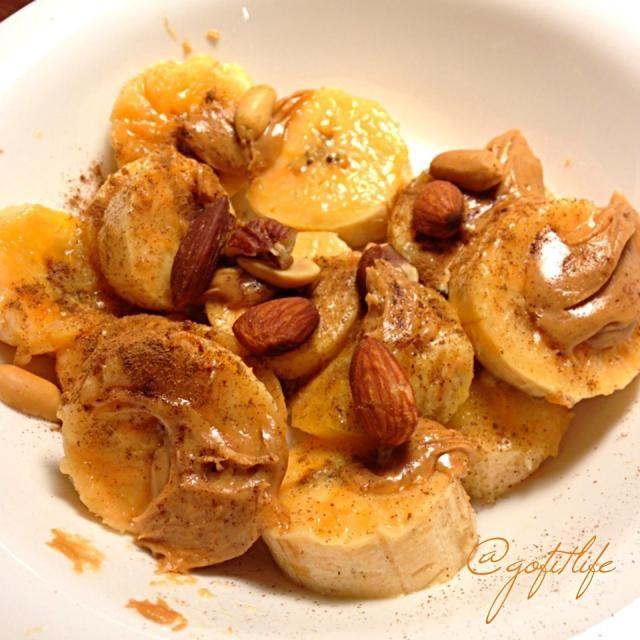 レシピとお料理がひらめくSnapDish - 16件のもぐもぐ - Banana peanut butter time by gofitlife