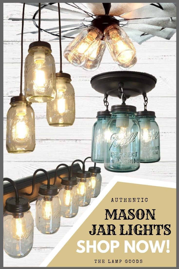 Shop Pin Worthy New Mason Jar Lighting By Lamp Goods Exclusive Designs You Won T See Anywhere Else Mason Jar Lighting Diy Mason Jar Lights Jar Lights