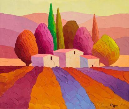 Colorful Hills Puzzle created by Clarkmega Image copyright: Sveta Esser