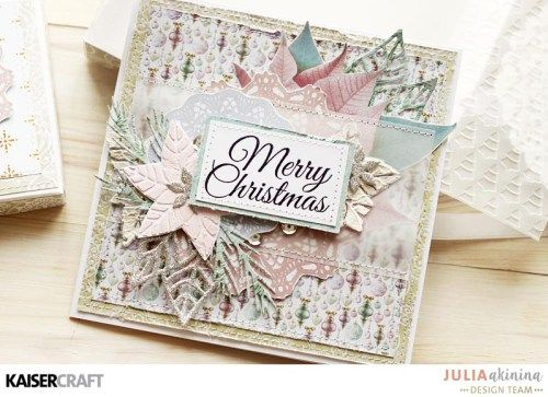 Some creative ways to use templates. Tutorial with Julia Akinina – Kaisercraft Official Blog