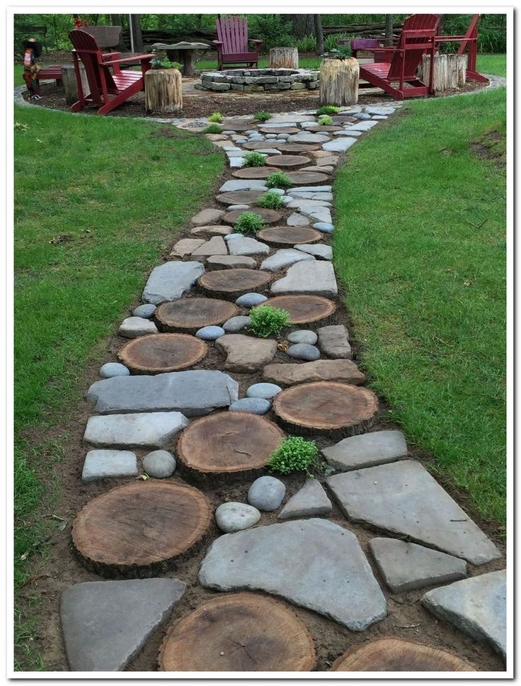 44 magical side yard and backyard gravel garden design ideas 4