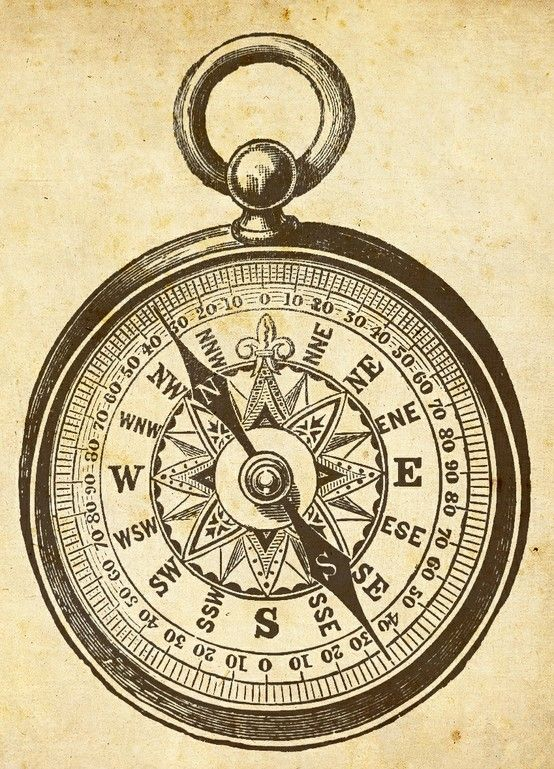 Compass, Compass drawing and Antique clocks on Pinterest